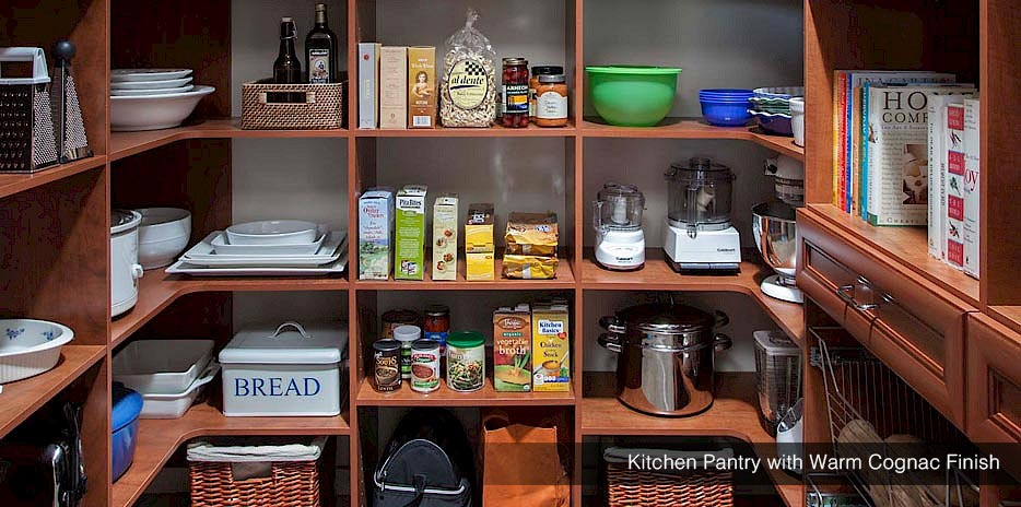 Custom Kitchen Pantry Organizers