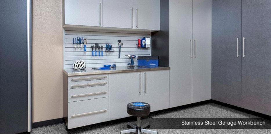 Stainless Steel Garage Workebench