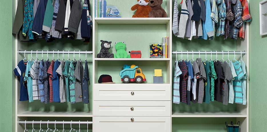 Child Flat Panel Small Closet ...