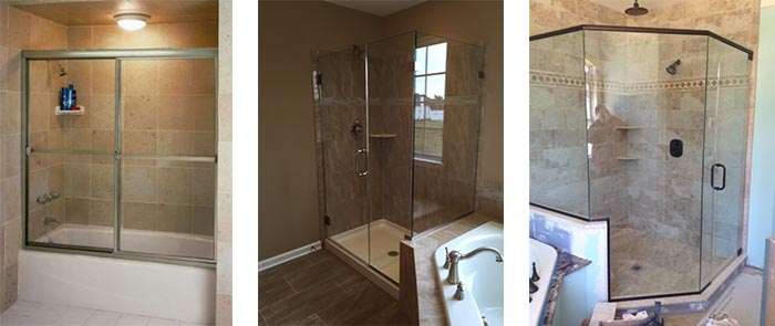Frameless Shower Door Options